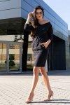 Sukienka Ponitama Black