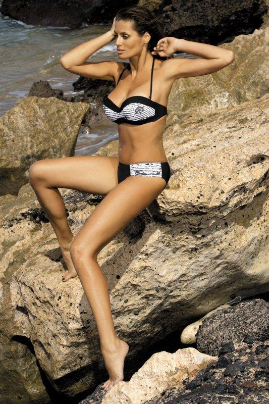 Kostium kąpielowy Claire M-201 Czarny (100)