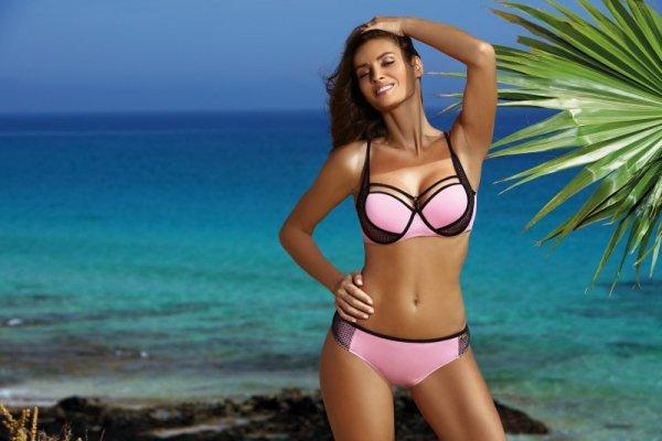 Kostium kąpielowy Charlotte Pink M-495 (3)