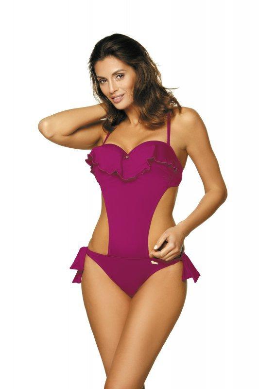 Kostium kąpielowy Carmen Thai Pink M-468W (5) Wiązany