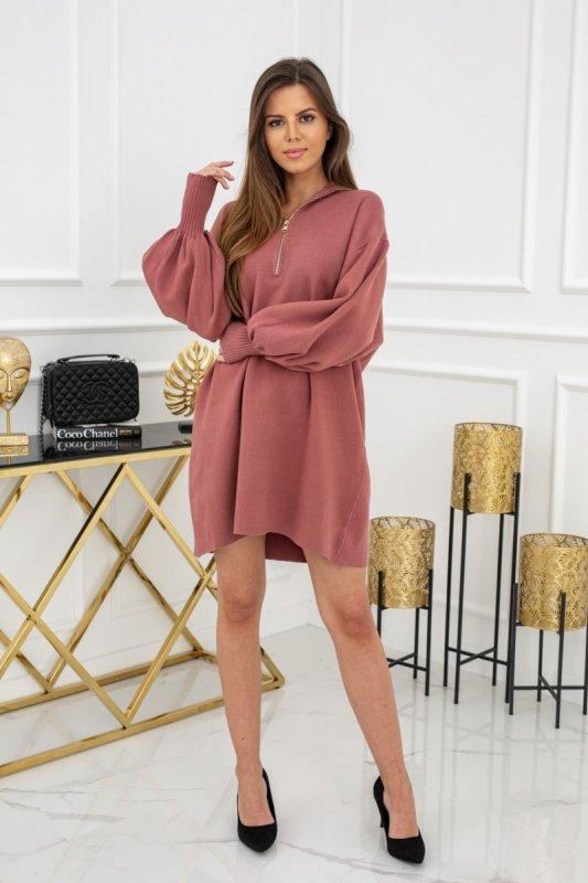 Bluza - sukienka Selin Dirty Pink MCY02473