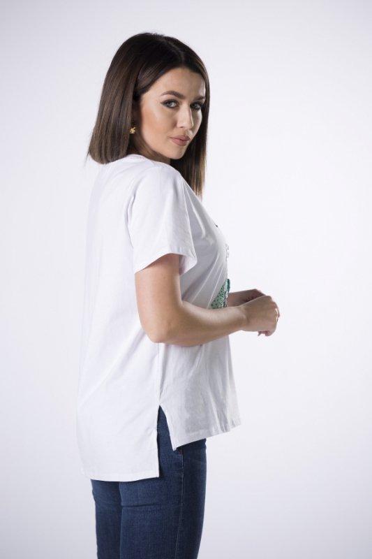 Bluzka Crystal-Coco M82994 White