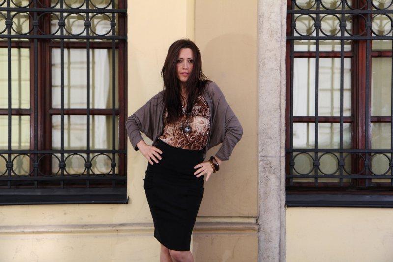 Sweter Cristina mocca
