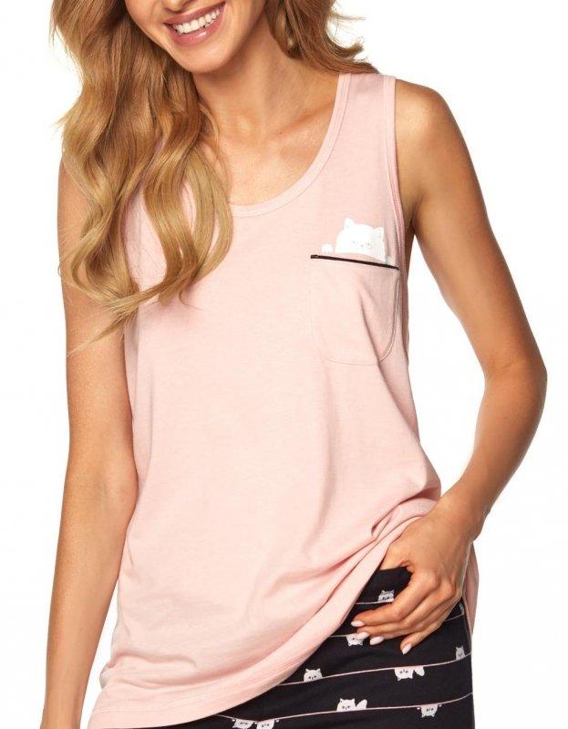 Piżama Daisy SAL-PY-1165.II Różowa
