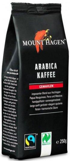 KAWA MIELONA ARABICA 100 % FAIR TRADE BIO 250 g - MOUNT HAGEN
