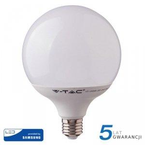 Żarówka LED V-TAC SAMSUNG CHIP 18W E27 GLOBE G120 VT-288 3000K 2000lm 5 Lat Gwarancji