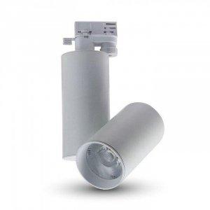 Oprawa Track Light LED V-TAC 30W 24st Biały VT-4635 4000K 2700lm 5 Lat Gwarancji