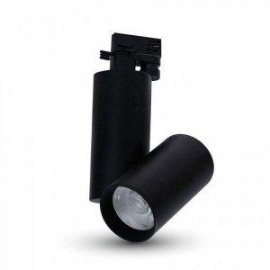 Oprawa Track Light LED V-TAC 30W 24st Czarny VT-4635 4000K 2700lm 5 Lat Gwarancji