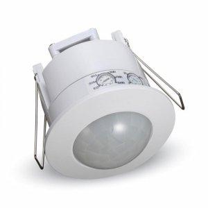 Czujnik Ruchu 360st z funkcją On/Off Sufitowy Wpuszczany Sufitowy Biały V-TAC VT-8051