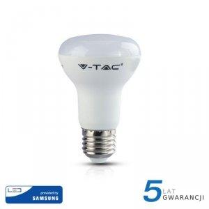 Żarówka LED V-TAC SAMSUNG CHIP 8W E27 R63 VT-263 4000K 570lm 5 Lat Gwarancji