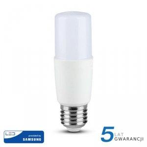 Żarówka LED V-TAC SAMSUNG CHIP 8W E27 T37 VT-237 4000K 660lm 5 Lat Gwarancji