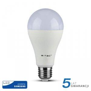 Żarówka LED V-TAC SAMSUNG CHIP 17W E27 A65 VT-217 4000K 1521lm 5 Lat Gwarancji