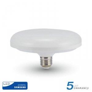 Żarówka LED V-TAC SAMSUNG CHIP 15W E27 fi150 UFO VT-216 3000K 1200lm 5 Lat Gwarancji