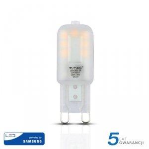 Żarówka LED V-TAC SAMSUNG CHIP 2.5W G9 VT-203 4000K 200lm 5 Lat Gwarancji