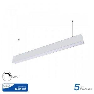 Oprawa V-TAC LED Linear SAMSUNG CHIP 60W Góra/Dół Do łączenia Zwieszana Biała 120cm VT-7-60 4000K 6000lm 5 Lat Gwarancji