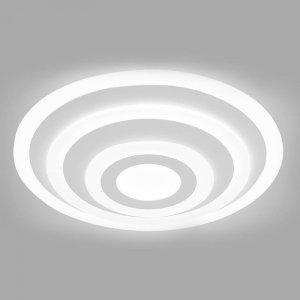 Oprawa V-TAC 85W Soft Light Chandelier Slim 3 Pierścienie Ściemnianie VT-85-3D 3000K 6400lm 3 Lata Gwarancji