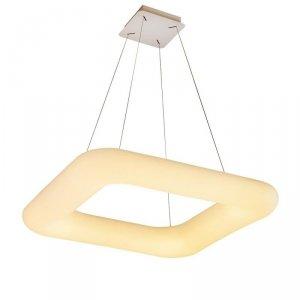 Oprawa LED V-TAC 40W Zwis Kwadrat Zmiana Barwy Światła D:460x460x120 Ściemnianie Biały VT-7461 3600lm 3 Lata Gwarancji