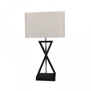 Lampka V-TAC E27 IKS Kwadrat Czarna Kość Słoniowa 320x200x570mm VT-7712 5 Lat Gwarancji