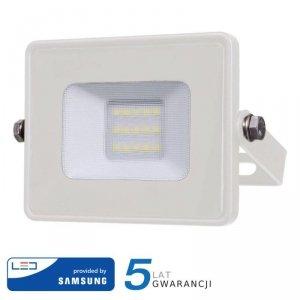 Projektor LED V-TAC 10W SAMSUNG CHIP Biały VT-10 4000K 800lm 5 Lat Gwarancji