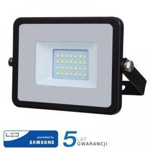Projektor LED V-TAC 20W SAMSUNG CHIP Czarny VT-20 3000K 1600lm 5 Lat Gwarancji