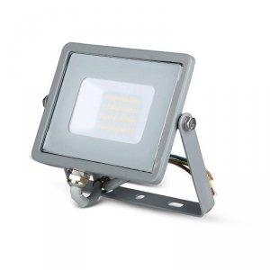 Projektor LED V-TAC 20W SAMSUNG CHIP Szary VT-20 3000K 1600lm 5 Lat Gwarancji