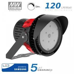 Projektor LED V-TAC 500W SAMSUNG CHIP Sports Light 45st Ściemnialny Zas. Mean Well VT-500D 5000K 67500lm 5 Lat Gwarancji