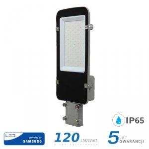 Oprawa Uliczna LED V-TAC SAMSUNG CHIP A++ 50W Szara VT-50ST 4000K 6000lm 5 Lat Gwarancji