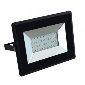 Projektor LED V-TAC 30W SMD E-Series Czarny VT-4031 4000K 2550lm