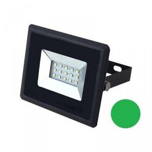 Projektor LED V-TAC 10W Czarny E-Series IP65 VT-4011 Zielony 850lm