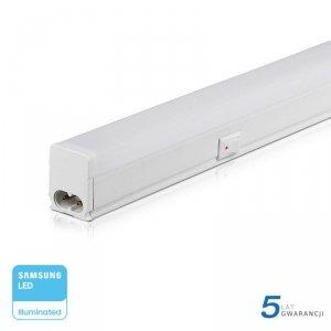 Belka LED V-TAC SAMSUNG CHIP 4W 30cm z włącznikiem VT-035 3000K 360lm 5 Lat Gwarancji
