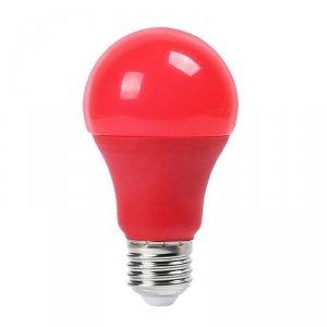 Żarówka LED V-TAC 9W E27 Kolorowa VT-2000 Czerwony 270lm