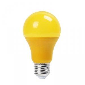 Żarówka LED V-TAC 9W E27 Kolorowa VT-2000 Żółty 270lm