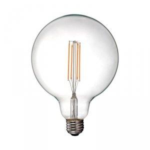 Żarówka LED V-TAC 12.5W Filament E27 G125 Przeźroczysta VT-2143 4000K 1550lm