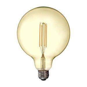 Żarówka LED V-TAC 12.5W Filament E27 G125 Bursztynowa VT-2153 2200K 1240lm