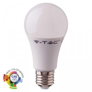 Żarówka LED V-TAC 10W E27 A60 CRI95+ VT-2210 4000K 806lm