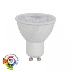 Żarówka LED V-TAC 6W GU10 38st CRI95+ VT-2206 6400K 400lm