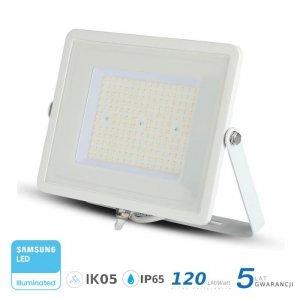Projektor LED V-TAC 100W SAMSUNG CHIP SLIM Biały 120lm/W VT-106 4000K 12000lm 5 Lat Gwarancji