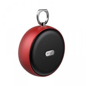 Przenośny Głośnik Bluetooth Micro USB Wysokiej jakości przewód 800mah Czerwony V-TAC VT-6211