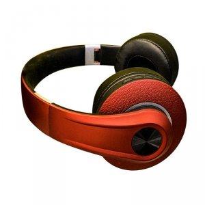 Bezprzewodowe Słuchawki Bluetooth Regulowany Pałąk 500mAh Czerwone VT-6322