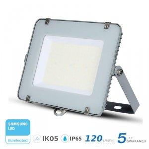 Projektor LED V-TAC 150W SAMSUNG CHIP SLIM Szary 120lm/W VT-156 4000K 18000lm 5 Lat Gwarancji