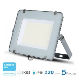 Projektor LED V-TAC 200W SAMSUNG CHIP SLIM Szary 120lm/W VT-206 4000K 24000lm 5 Lat Gwarancji
