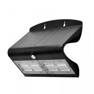 Projektor Solarny 6.8W LED + Czarny+Czarny V-TAC VT-767-7 4000K 800lm