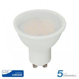 Żarówka LED V-TAC SAMSUNG CHIP GU10 10W 110st VT-271 6400K 1000lm 5 Lat Gwarancji