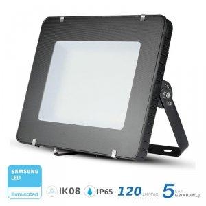 Projektor LED V-TAC 500W LED SAMSUNG CHIP Czarny 120lm/W 100st VT-505 6400K 60000lm 5 Lat Gwarancji