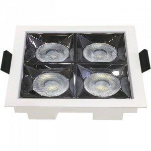 Oprawa V-TAC Downlight SAMSUNG CHIP 16W UGR19 CRI90+ 12st VT-2-16 5700K 1280lm 5 Lat Gwarancji