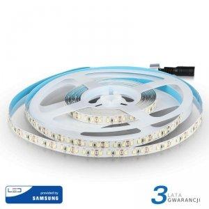 Taśma LED V-TAC SAMSUNG CHIP 2835 600LED 12V IP20 12W/m VT-5-120 3000K 1200lm 3 Lata Gwarancji