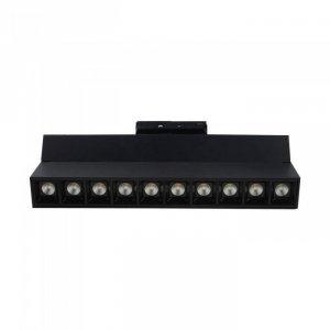 Oprawa LED V-TAC 25W Track Light SAMSUNG CHIP CRI90+ Czarna VT-431 2700K 2000lm 5 Lat Gwarancji