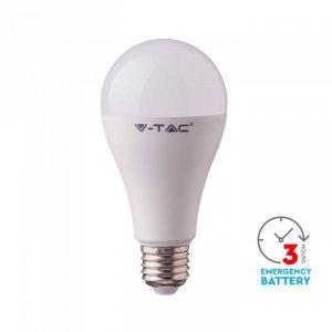 Żarówka Awaryjna LED V-TAC SAMSUNG CHIP 3h 9W E27 VT-2309 6400K 806lm