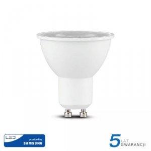 Żarówka LED V-TAC SAMSUNG CHIP 5W GU10 38st VT-275 3000K 380lm 5 Lat Gwarancji