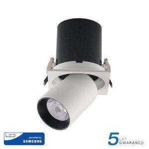 Oprawa Downlight V-TAC SAMSUNG CHIP 18W CRI90+ 24st VT-419 4000K 1450lm 5 Lat Gwarancji